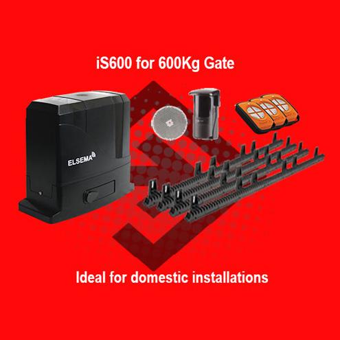 Sliding gate motor kit