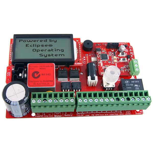 Control card for single 24V or 12V motor
